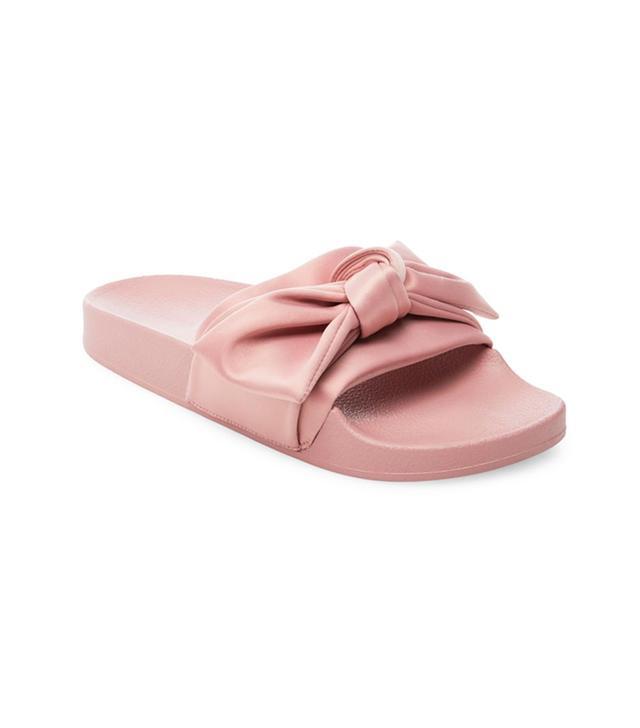 Steve Madden Silk Flat Sandals