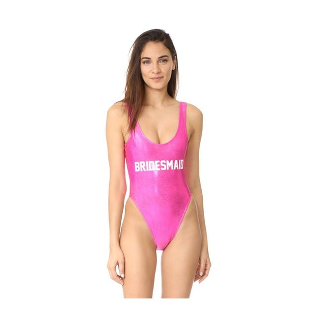 Private Party Bridesmaid Metallic One Piece