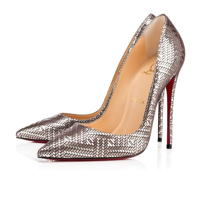Metallic Louboutin Pumps
