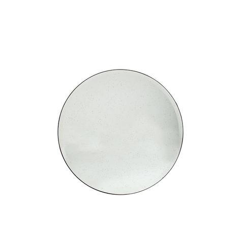 Round Foxed Mirror