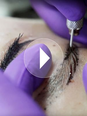 Watch: Our Editorial Director Gets Her Eyebrows Microbladed