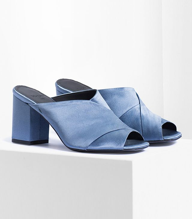 best satin shoes- aeyde Francis Heeled Sandals