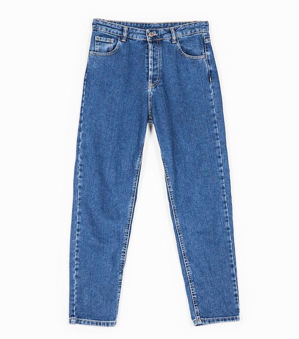 Stravidarius online fashion shop: blue mom jeans
