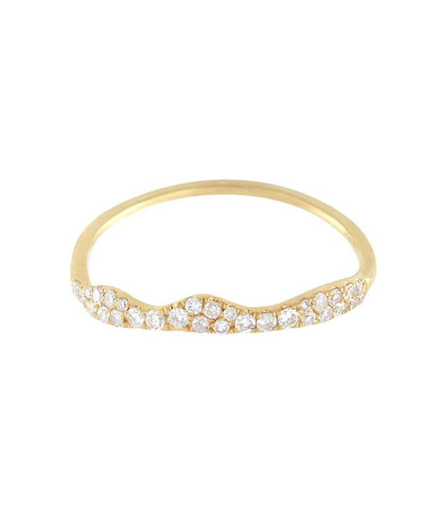 Meira T White Diamond Ring 14k Gold
