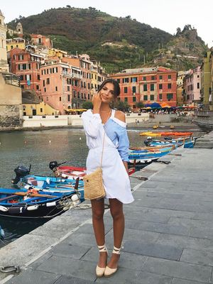 Emrata Wore Zara in Italy—Again