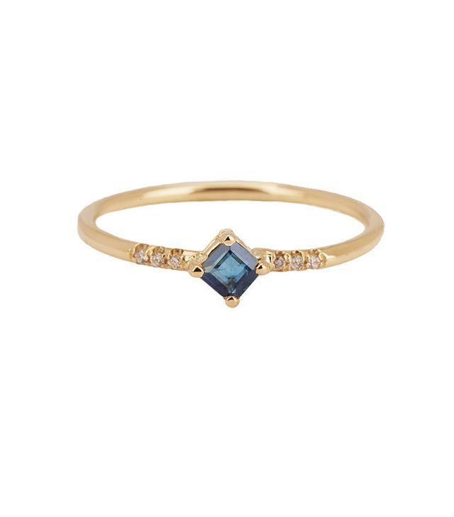 Jennie Kwon Sapphire Point Equilibrium Ring