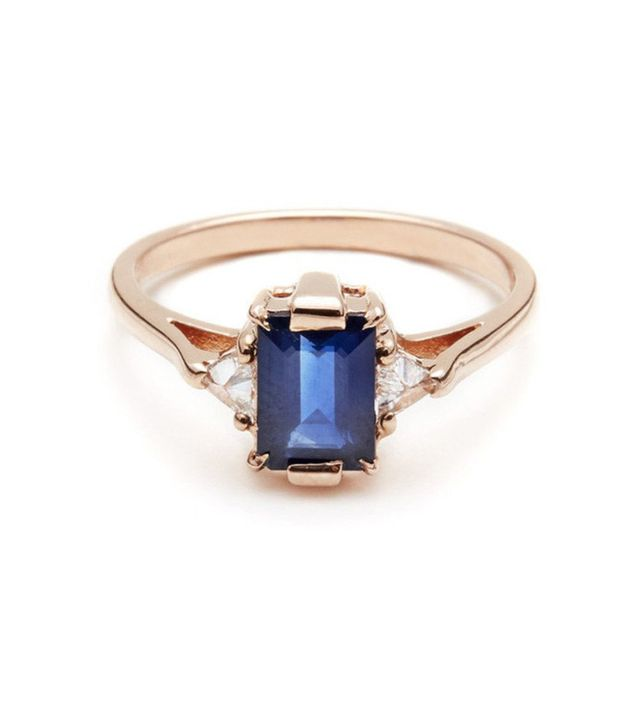 Anna Sheffield Bea Three Stone Ring