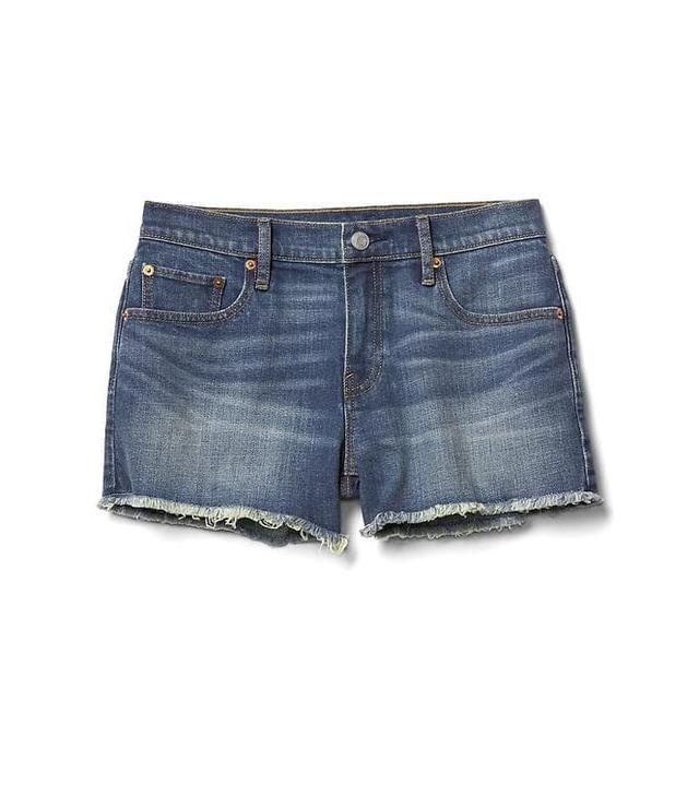 Gap Mid Rise Vintage Cutoff Shorts