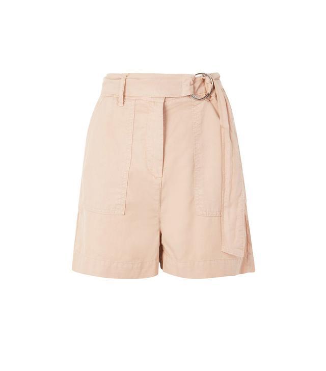 Topshop Washed D-Ring Shorts