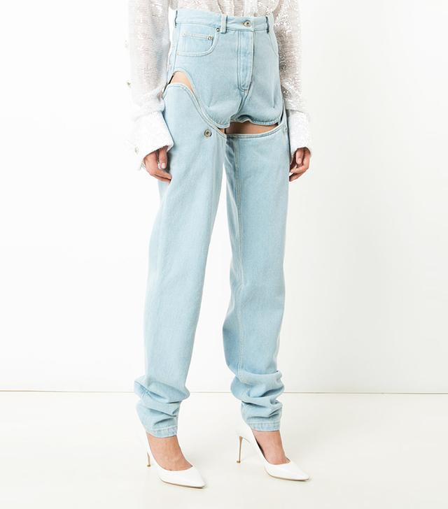 short combo jeans