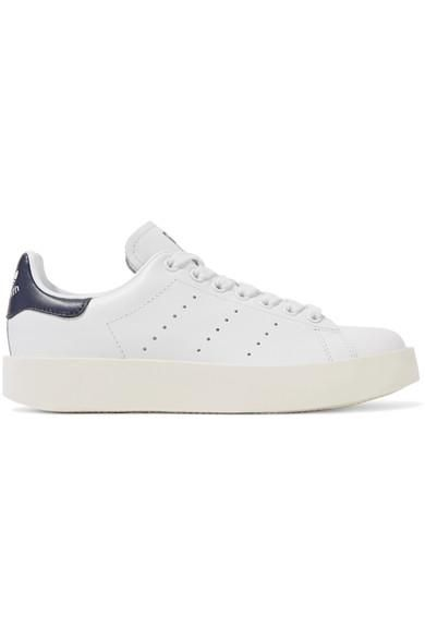 Stan Smith Leather Platform Sneakers