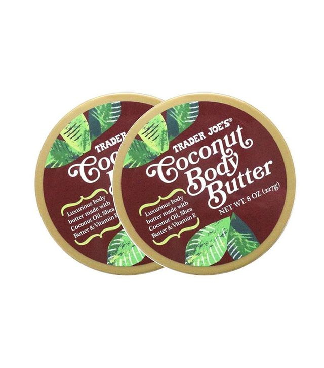 trader joes coconut body butter - trader joes products