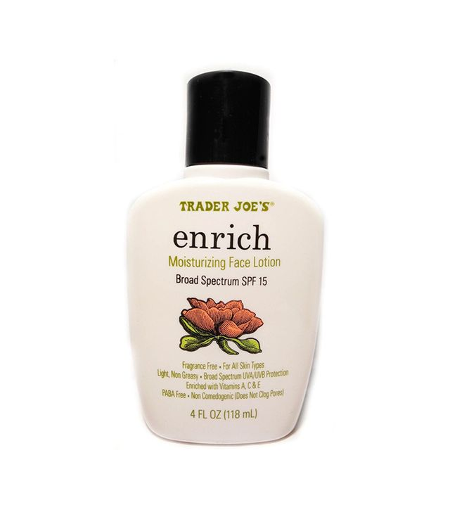 trader joes face lotion - trader joes products
