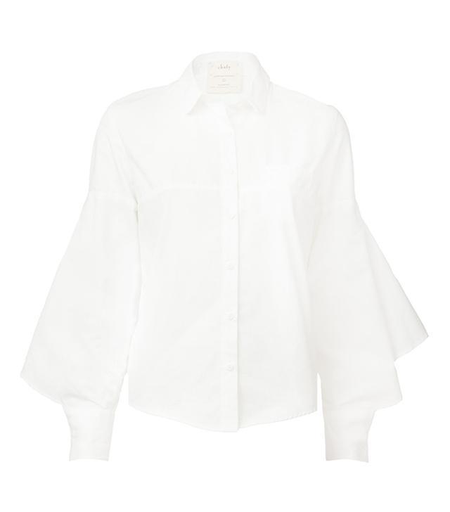 voluminous sleeve shirt
