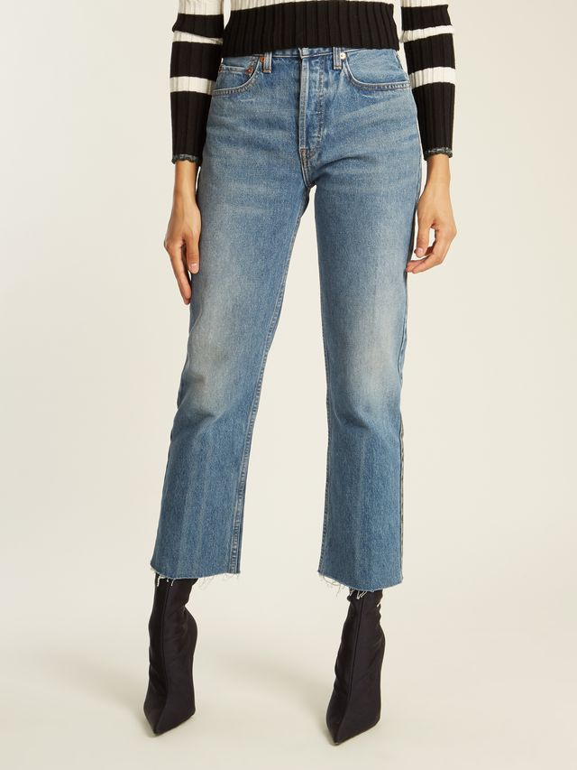 Re/Done High-Rise Jeans