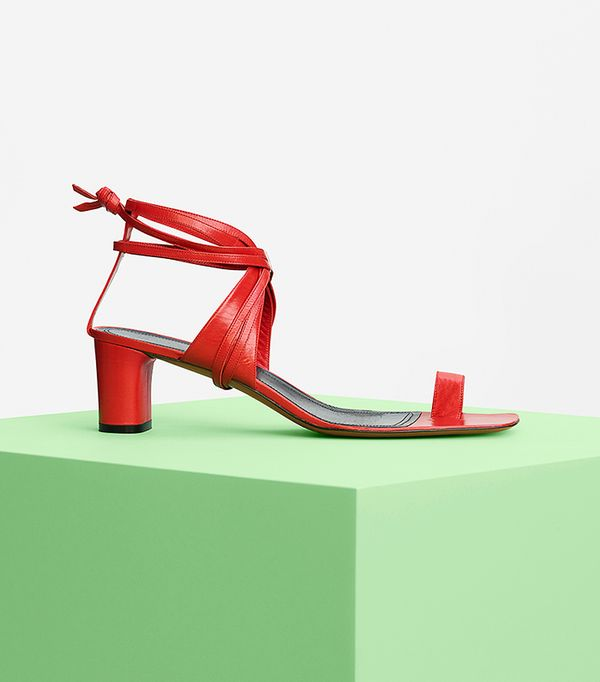 Summer's It Shoe Trend: Celine Toe Ring Sandal in Kidskin