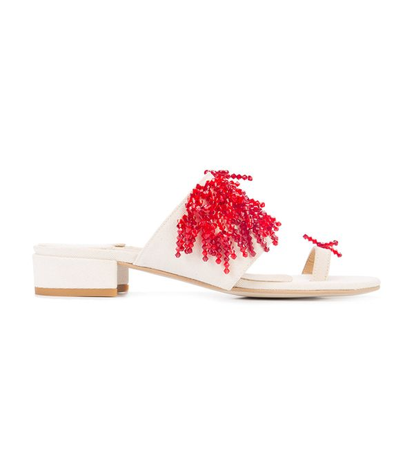 Summer's It Shoe Trend: Rosie Assoulin Embellished Sandals