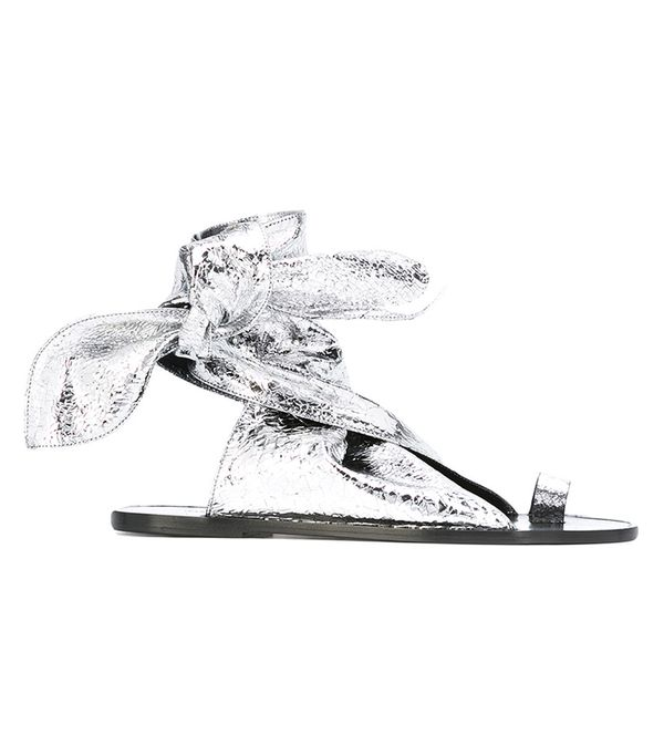 Summer's It Shoe Trend: Isabel Marant Flat Sandals