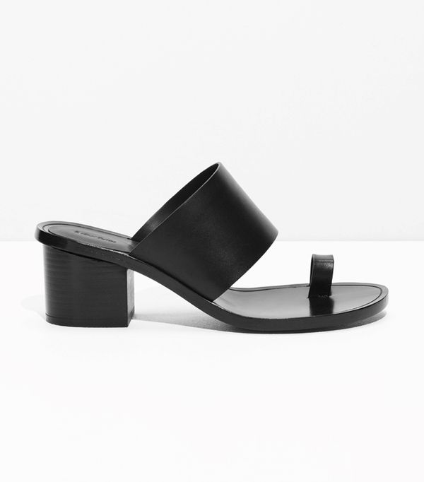 Summer's It Shoe Trend: & Other Stories Toe Slide Sandal