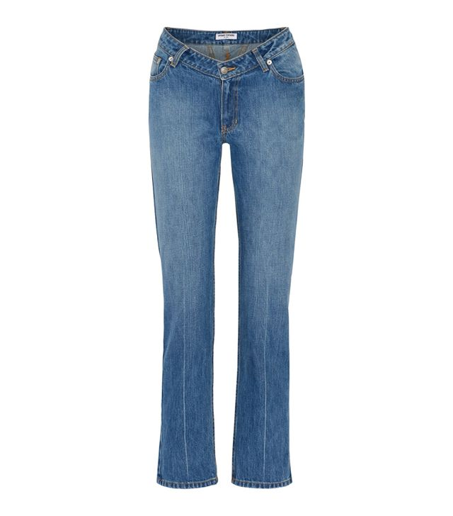 Can you clean jeans in the freezer: Opening Ceremony Dip Mid-Rise Straight-Leg Jeans