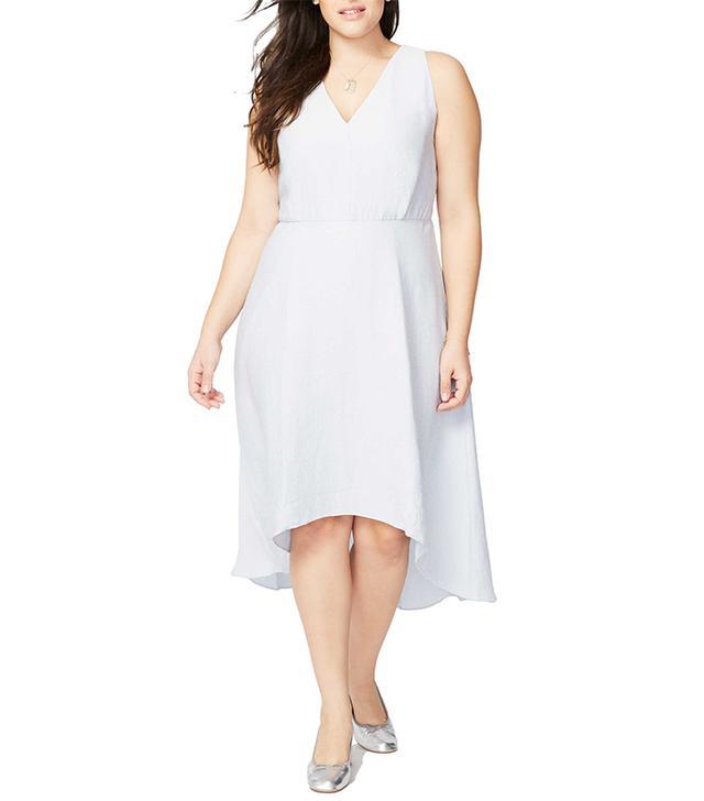 Plus Size Women's Rachel Rachel Roy Flutter Drape Dress