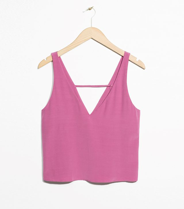 cropped tank tops for summer