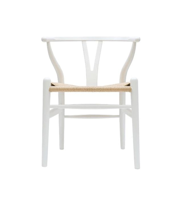 2xhome White Wishbone Chair