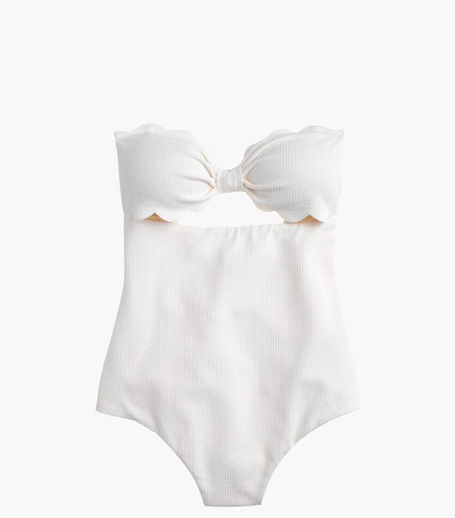 Marysia Antibes One-Piece Swimsuit in White