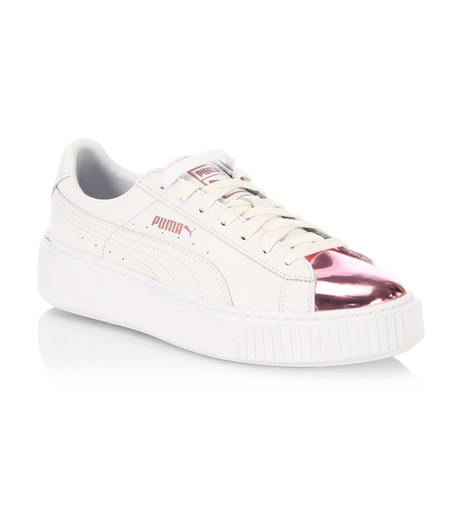 basket puma rose gold