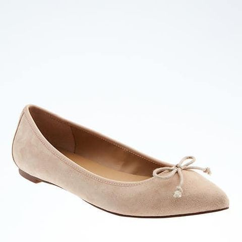 Pointed Toe Robin Ballet Flat