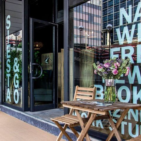 """A """"Nap Bar"""" Just Opened in Madrid (and Now We Know Where to Vacation Next)"""