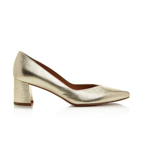 Everyday Metallic Pointed Toe Pumps