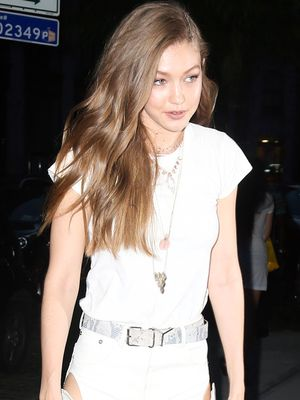 A French Icon Told Gigi Hadid to Wear This Easy Outfit to Parties