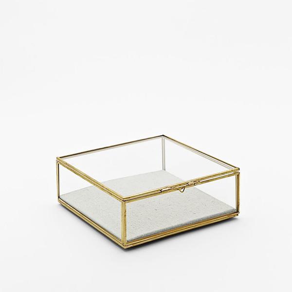 West Elm Glass Small Shadow Box