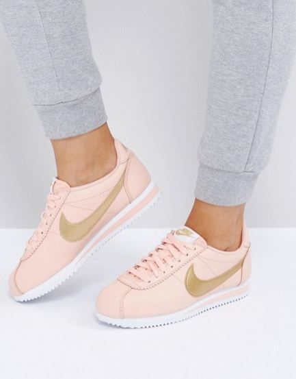 Nike Gold Pack Cortez Trainers