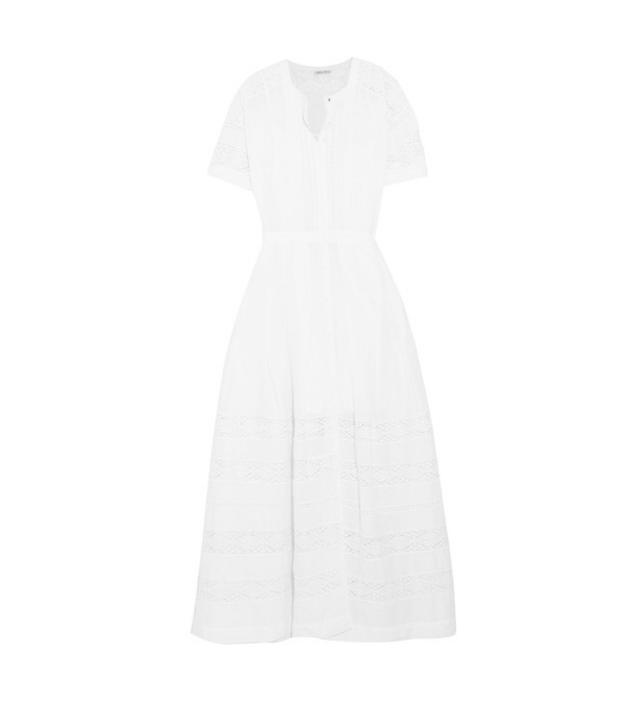 LoveShackFancy white lace dress