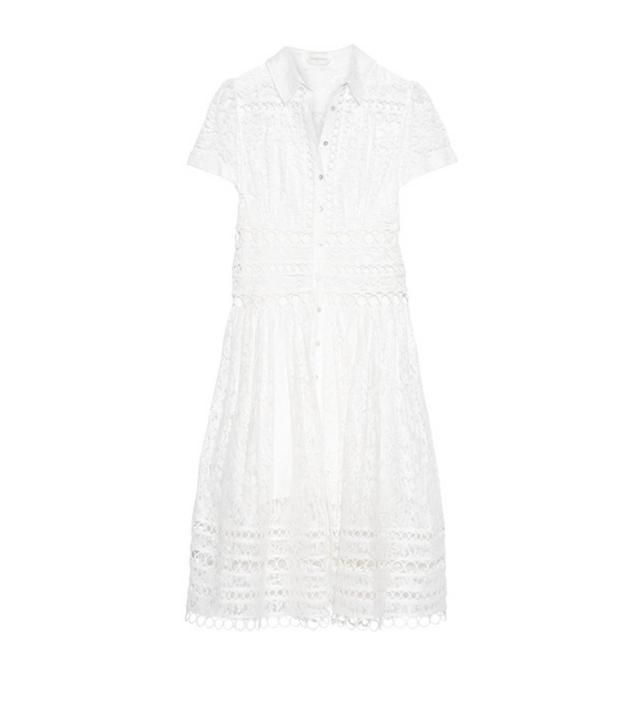 Zimmermann white lace dress