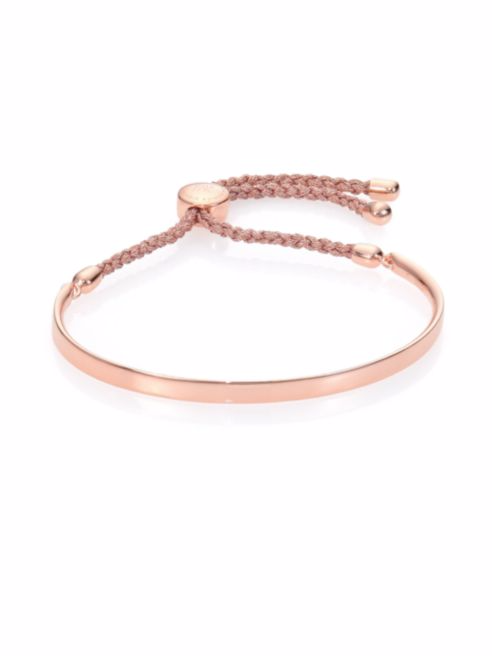 Fiji 18K Rose Gold Vermeil Friendship Bracelet