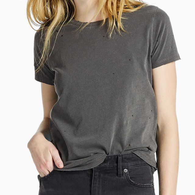 Lucky Distressed Tee