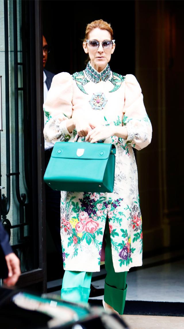 Céline Dion Paris Fashion Week wardrobe