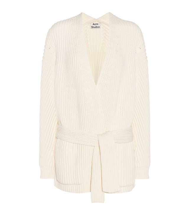 What to wear to an autumn wedding: Acne Studios Beate Cotton-Blend Cardigan