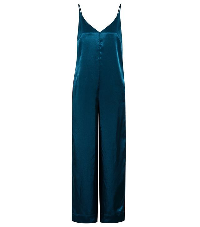 What to wear to an autumn wedding: Golden Goose Deluxe Brand Debbie Satin Jumpsuit