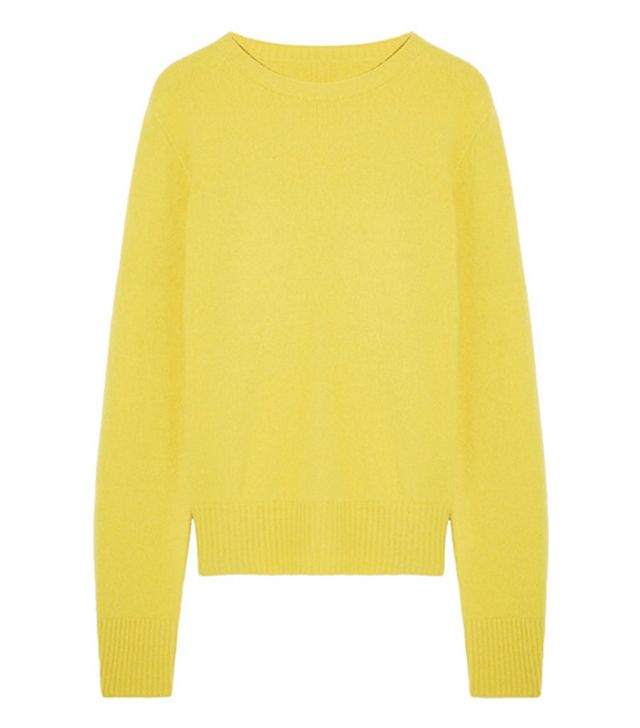 The Row yellow jumper