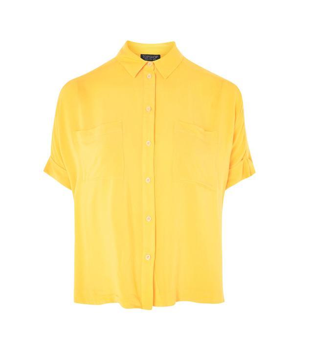 Topshop Short Sleeve Shirt