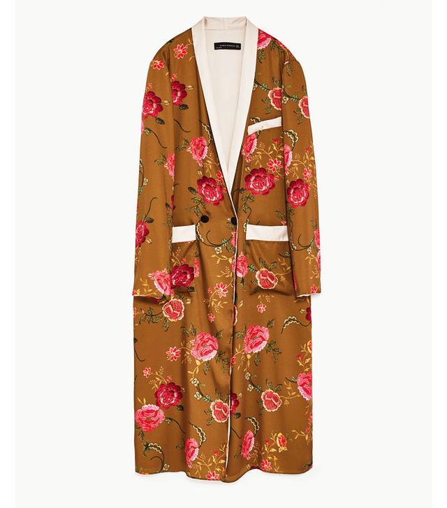 Zara kimonos: Floral print kimono