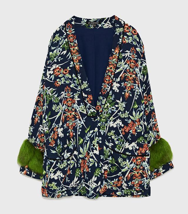 Zara Kimono: Short Kimono with cuffs