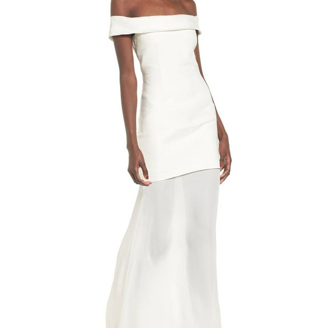 Women's Stone Cold Fox Fairview Off The Shoulder Gown