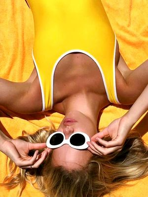 It's Not Just You—This Swimsuit Color Is Everywhere