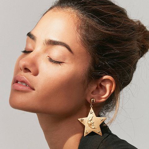 Sterling Summer Nights Dream Statement Earring