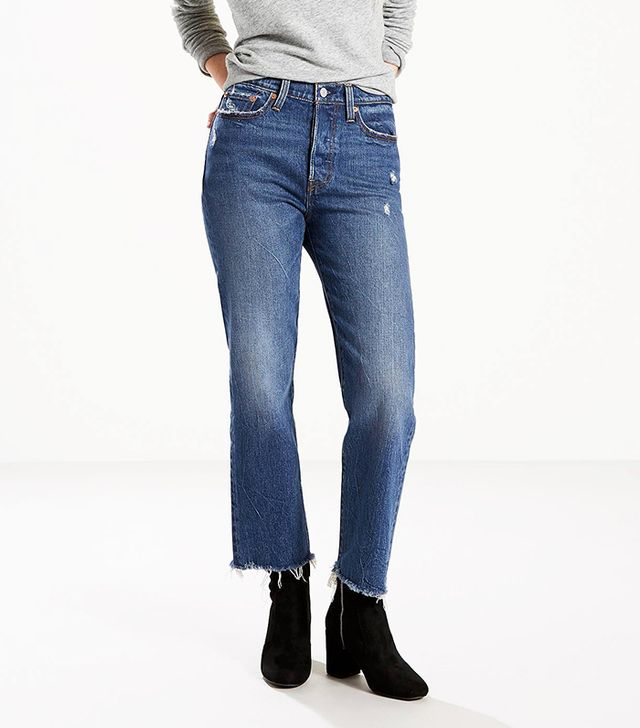 Levi's Wedgie Fit Straight Jeans in Lasting Impression
